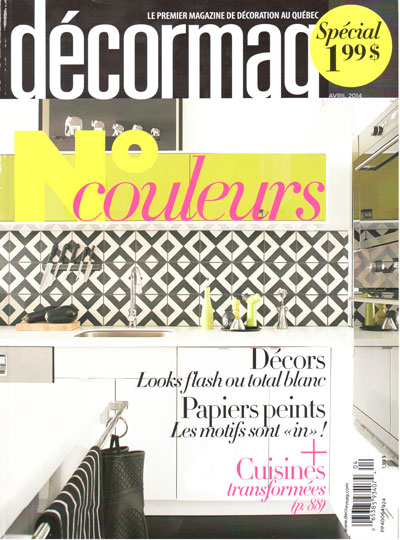 Decormag avril cover cuisine new zone for Cuisine new zone