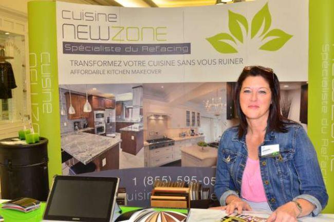 Cuisine newzone au salon habitation d co cuisine new zone for Cuisine new zone