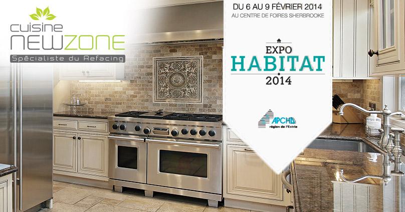 Salon habitat sherbrooke cuisine new zone for Cuisine new zone